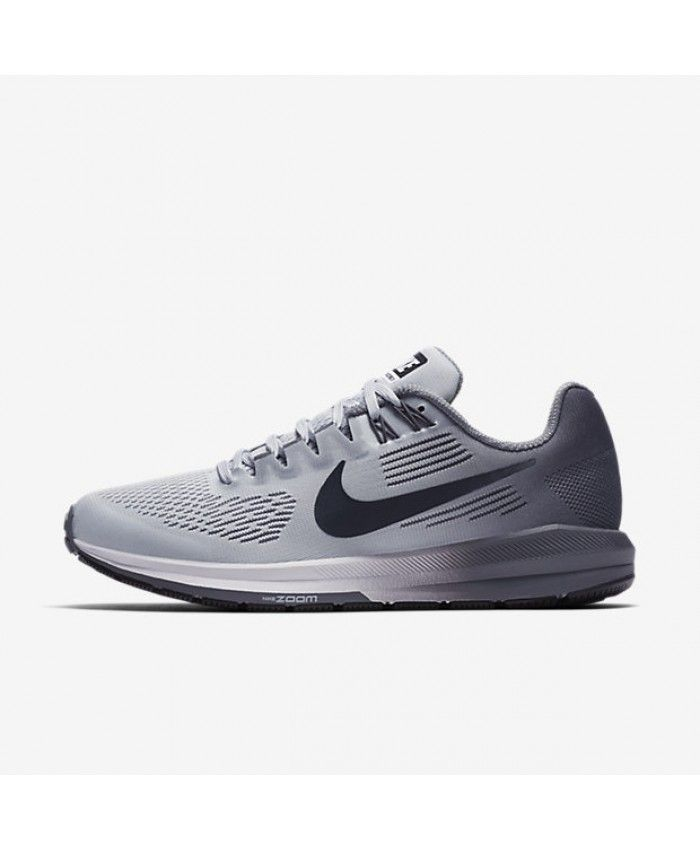 27e4656bc864e Nike Air Zoom Structure 21 Pure Platinum Cool Grey Wolf Grey Anthracite  904701-005