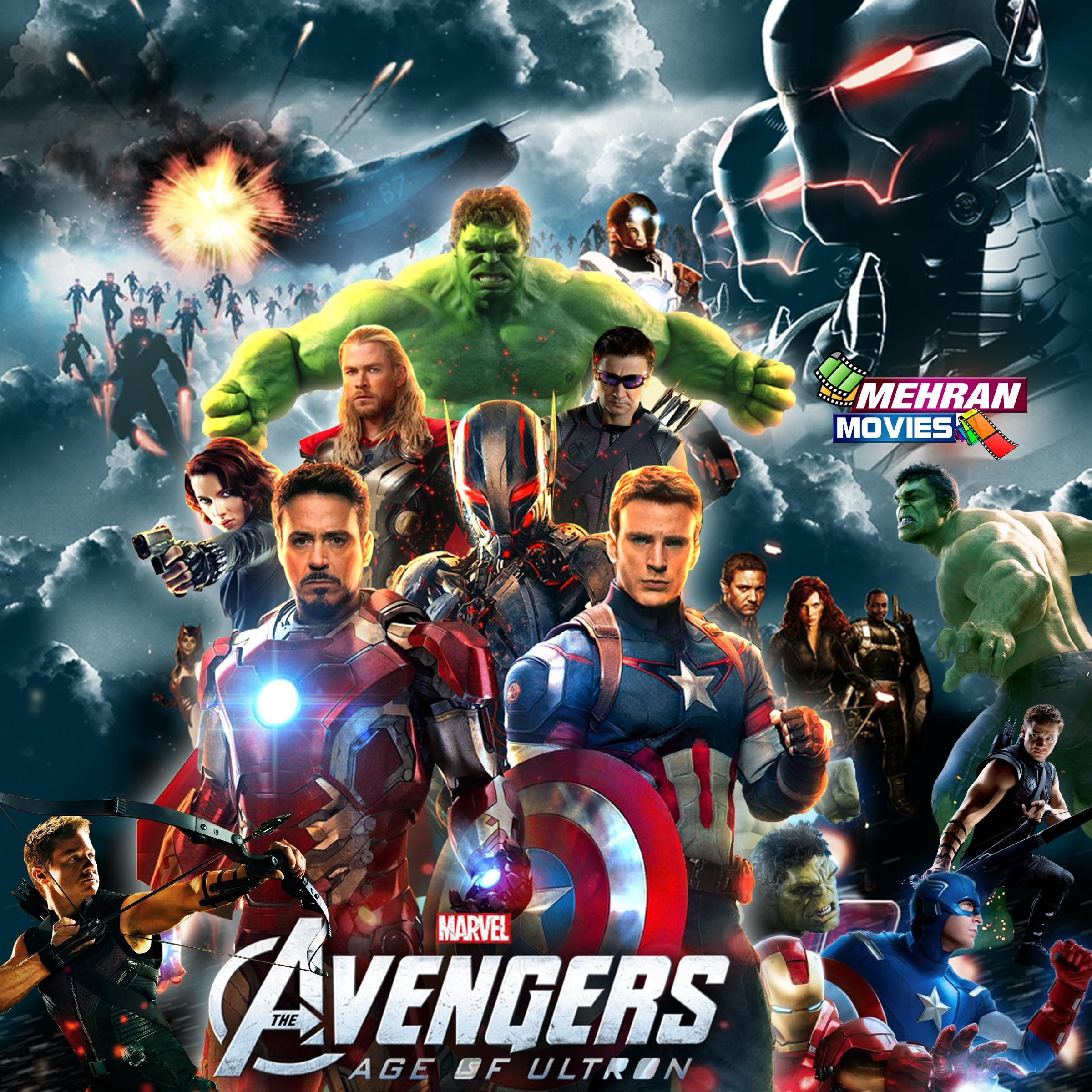 The Avengers Age Of Ultron Movie Hd Poster 2014 2015
