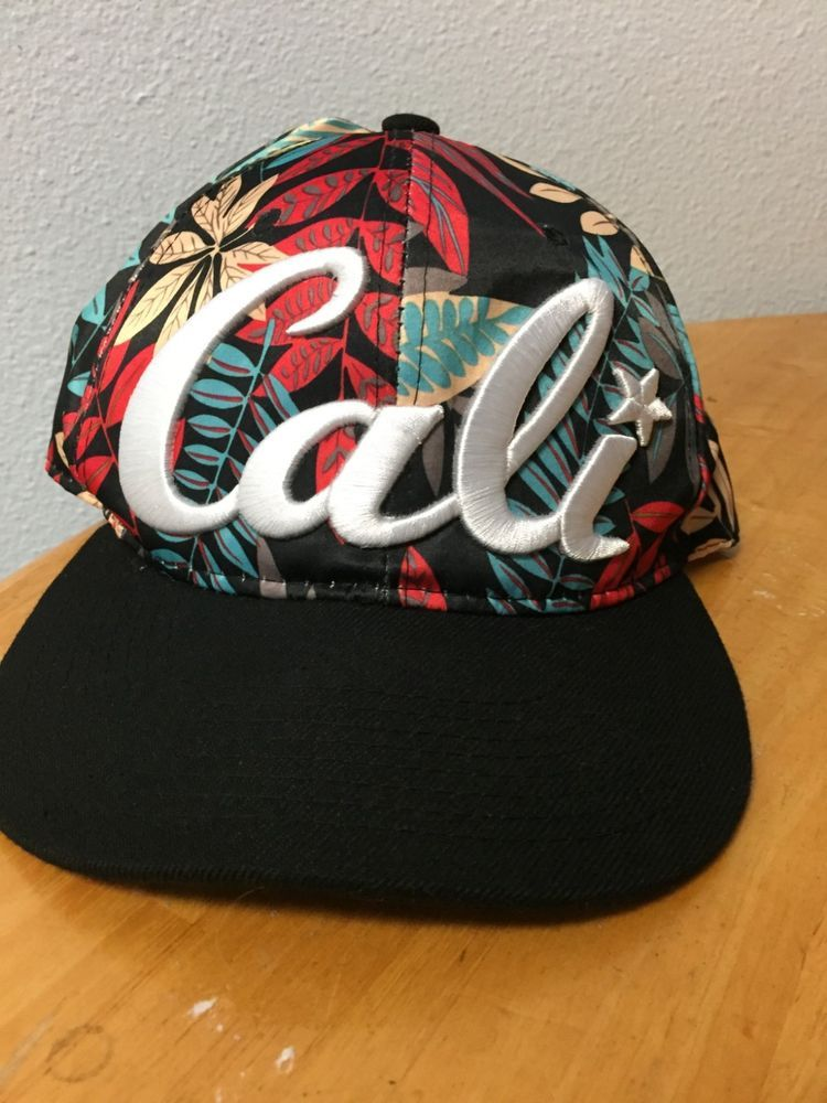 8943d7e33178 California Cali Bear Republic Hat Cap Snapback Flat Bill State Leaf Pattern  CA  fashion  clothing  shoes  accessories  mensaccessories  hats (ebay link)