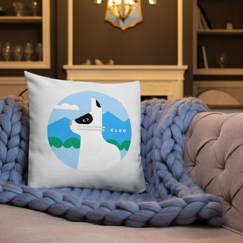 Custom cat pillow for cat lover or mom cat gift Cat