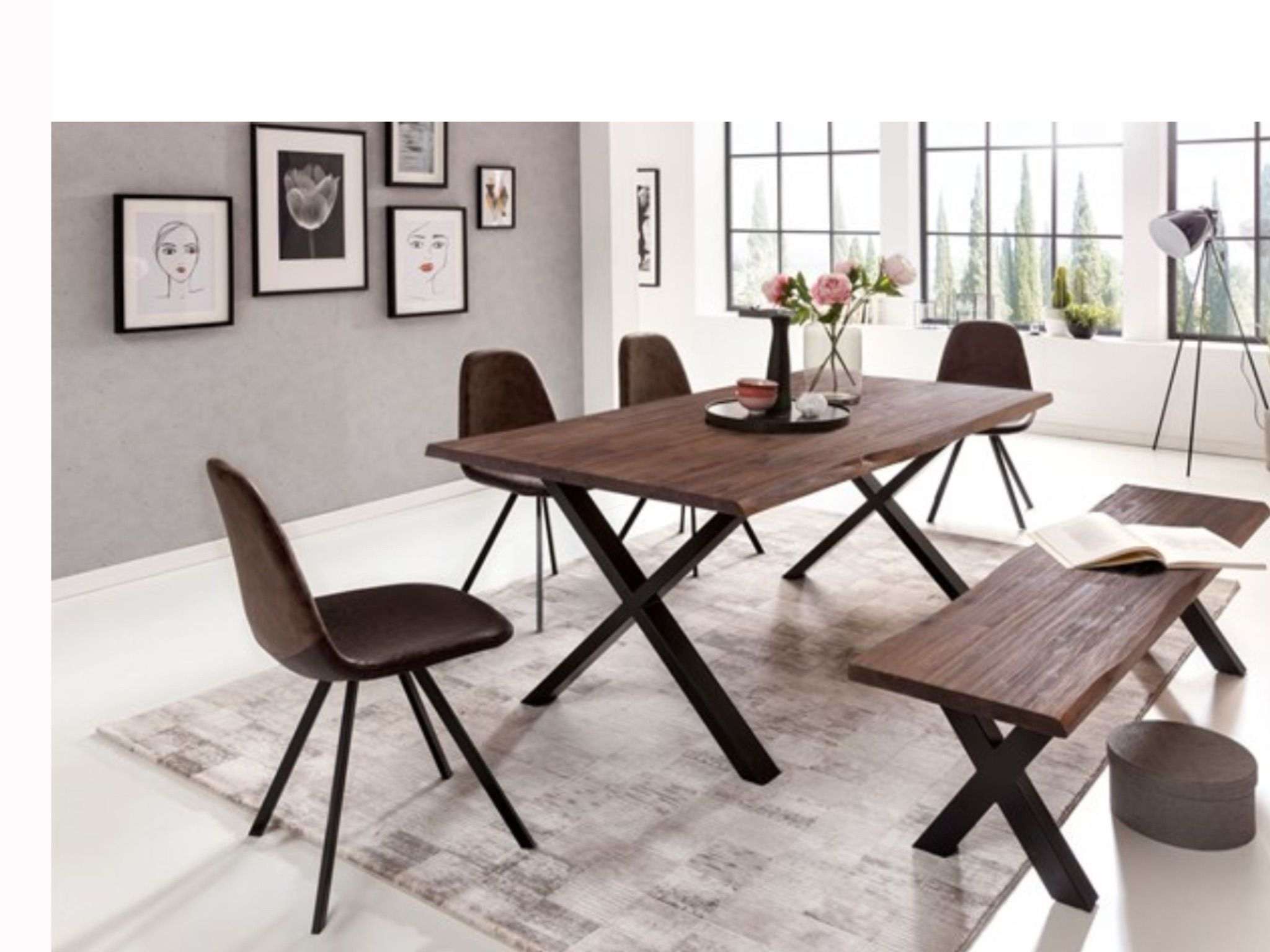 Epingle Par Hoarau Beatrice Sur Idees Deco Table Bois Massif