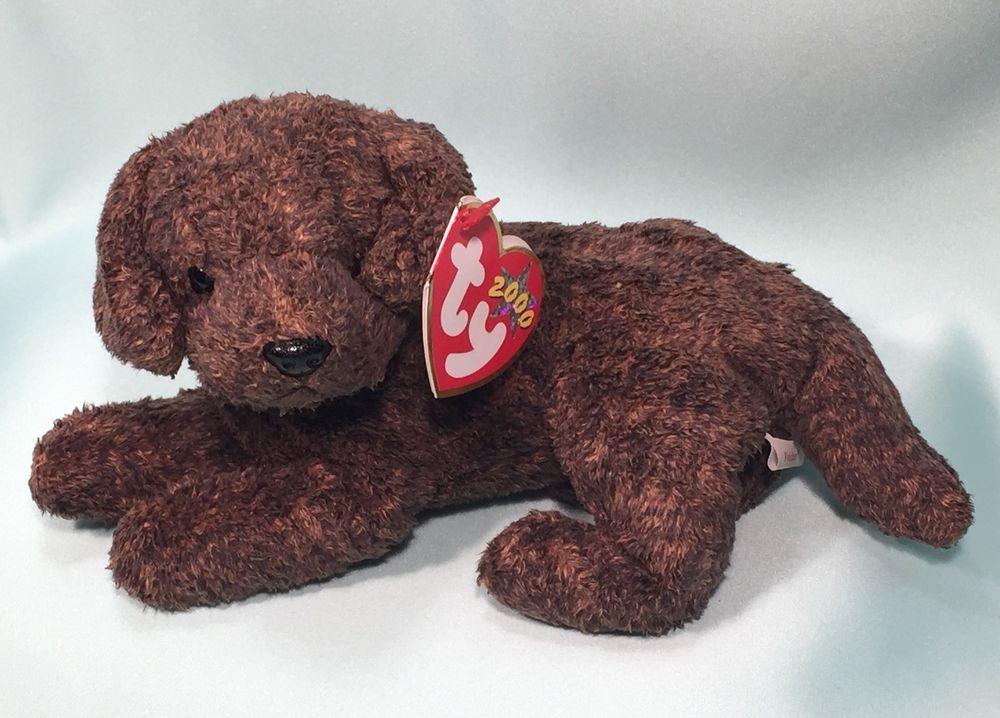 1df8509b483 Retired FETCHER™ Labrador Retriever Puppy Dog Ty Beanie Baby - 2000 NEW  MWMTS  Ty
