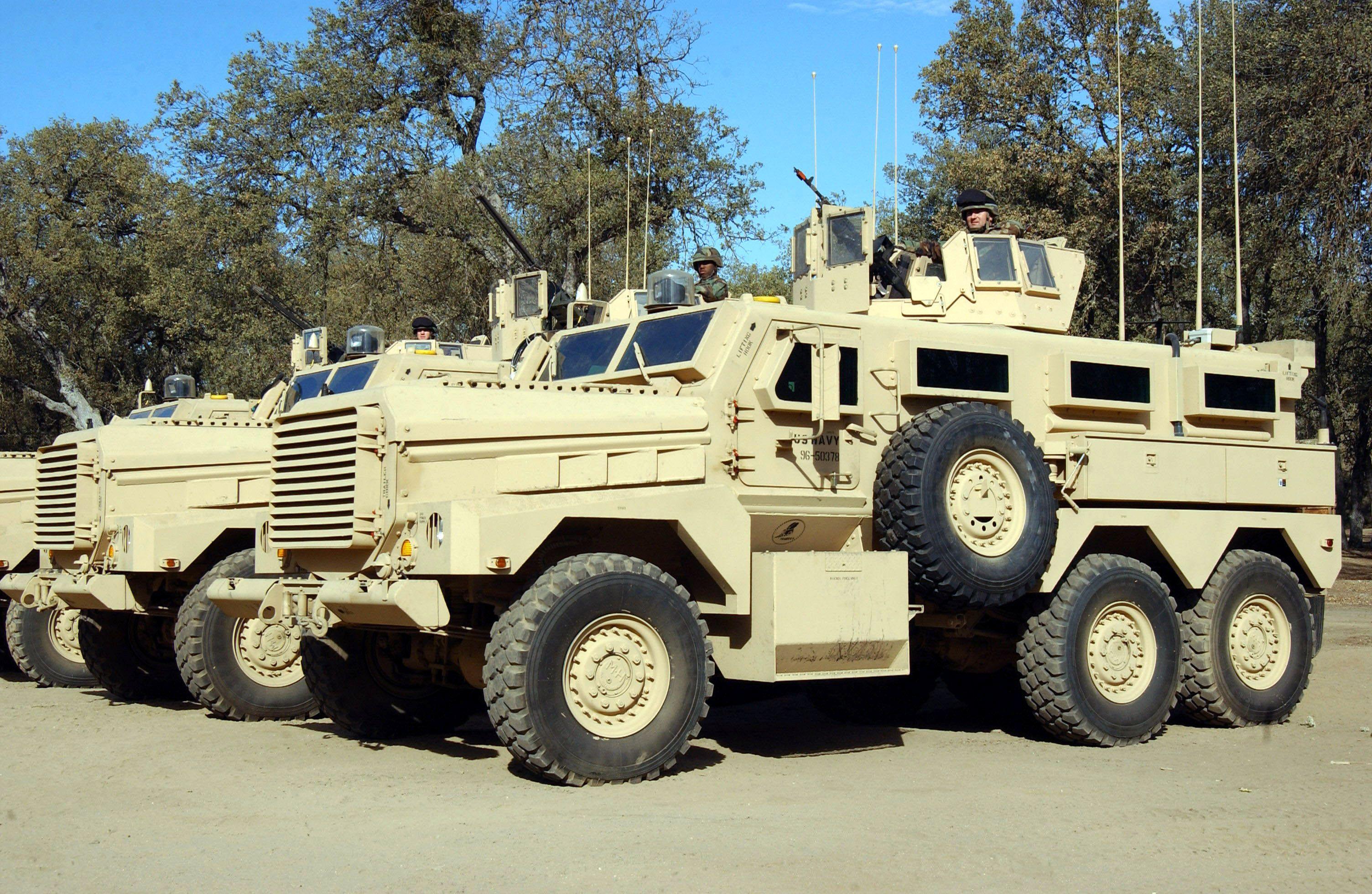 Cougar 6x6 Mine-Resistant Ambush Protected Vehicle (USA) | military ...