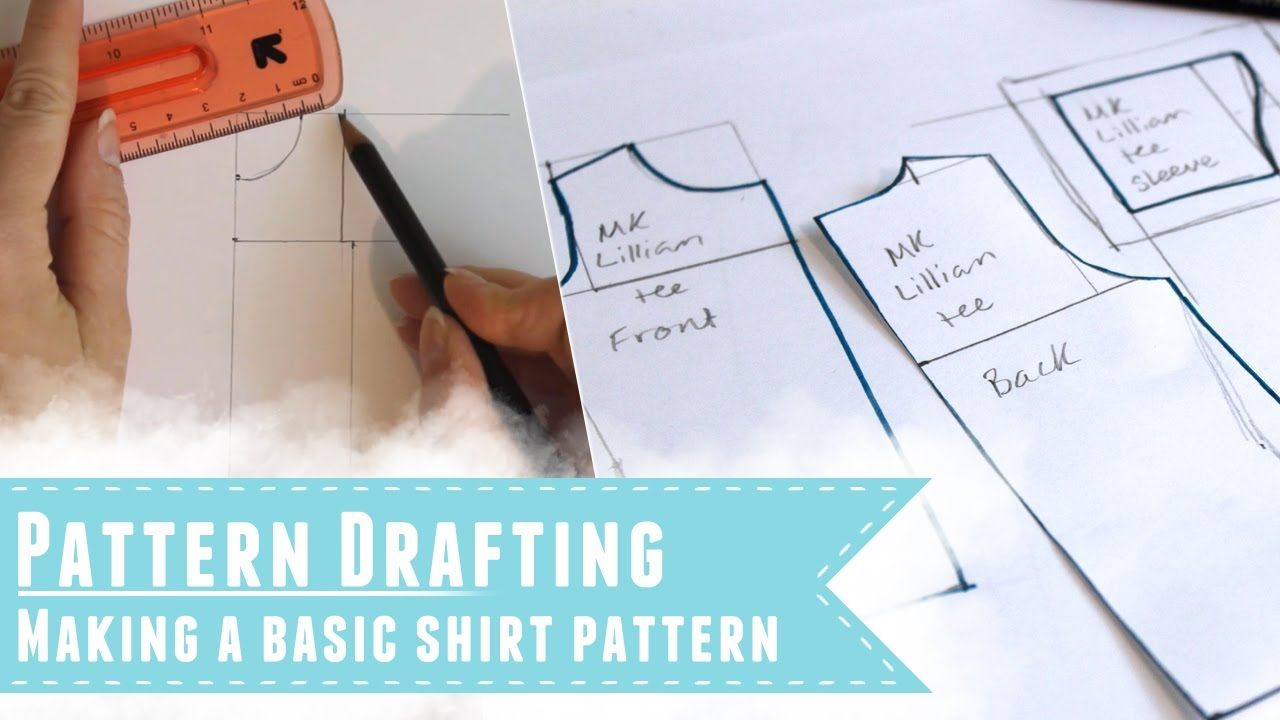 Drafting a shirt pattern to fit your doll | BARBIE | Pinterest | Nähe