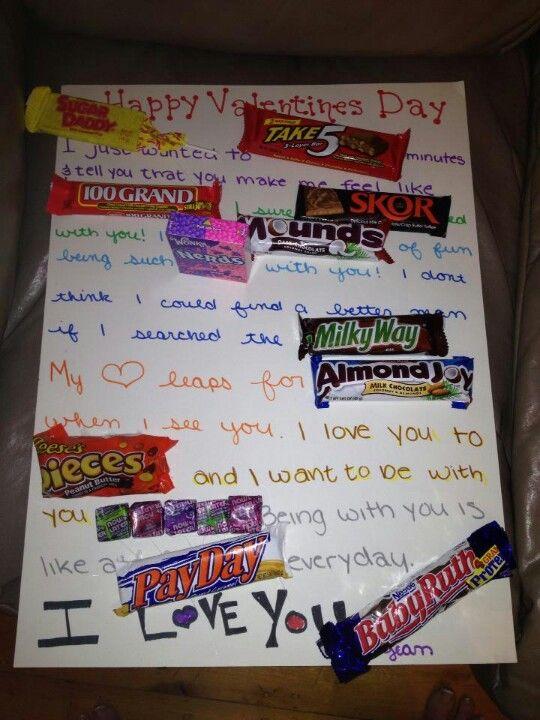 Valentine S Day Candy Card Not My Brainchild Pinterest