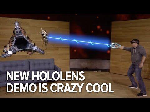 Microsoft's Hololens in actie: Mixed Reality brengt straks