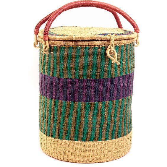 Ghana Bolga Baskets Laundry Hamper