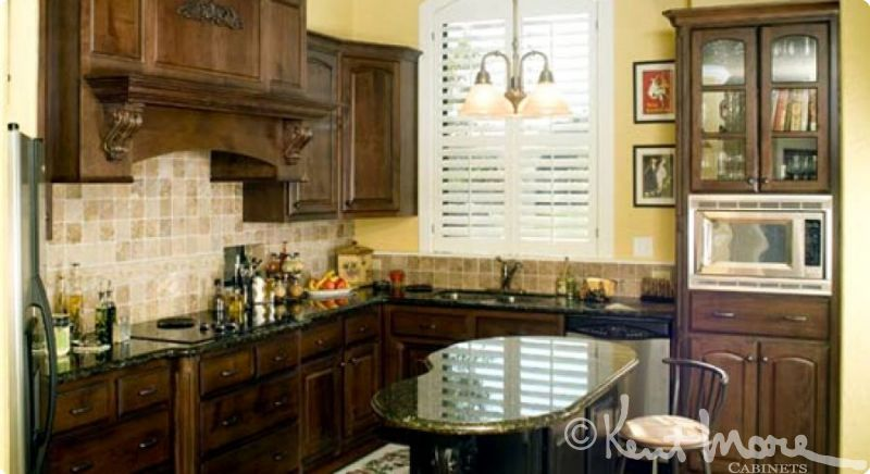 custom kitchen cabinets by kent moore cabinets alder wood with autumn harvest stain with ebony - Kent Kitchen Cabinets