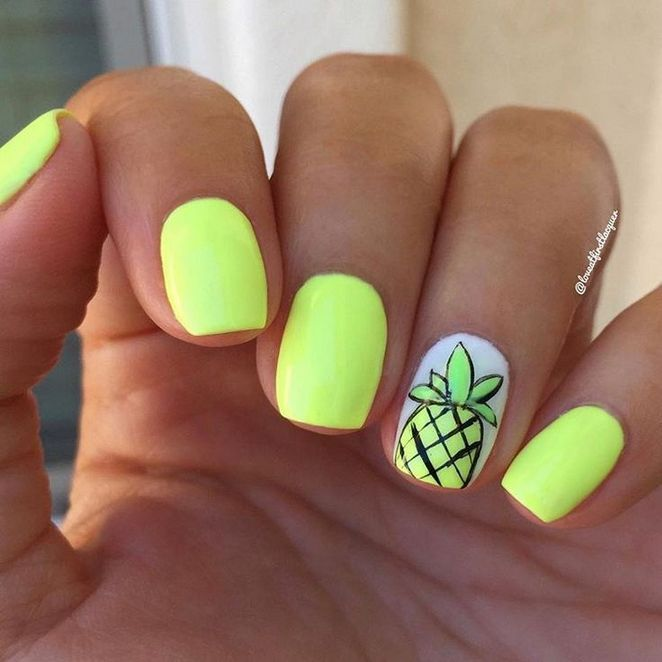36 Definitions Of Acrylic Nails Designs For Summer Bright Sparkle