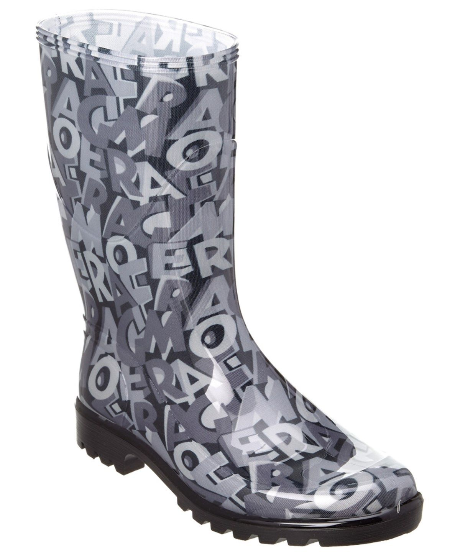 Cheap New Arrivals Salvatore Ferragamo Farabel Rain Boot Womens Black Salvatore Ferragamo Womens Boots Booties