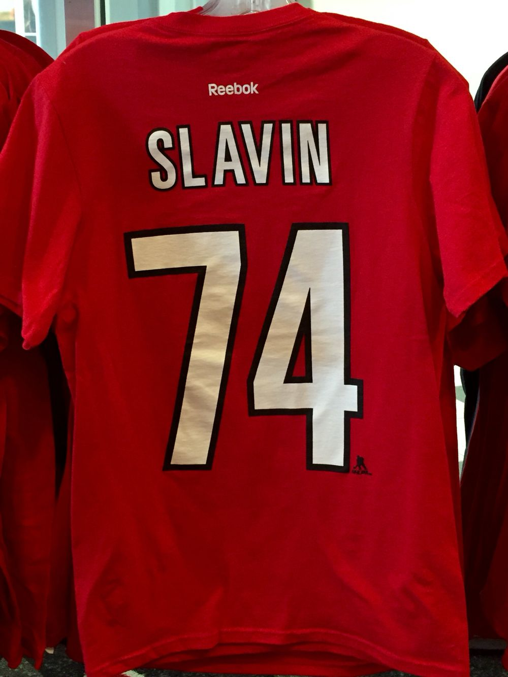 Jaccob Slavin jersey t-shirts now available at The Eye!  7aa734f7d