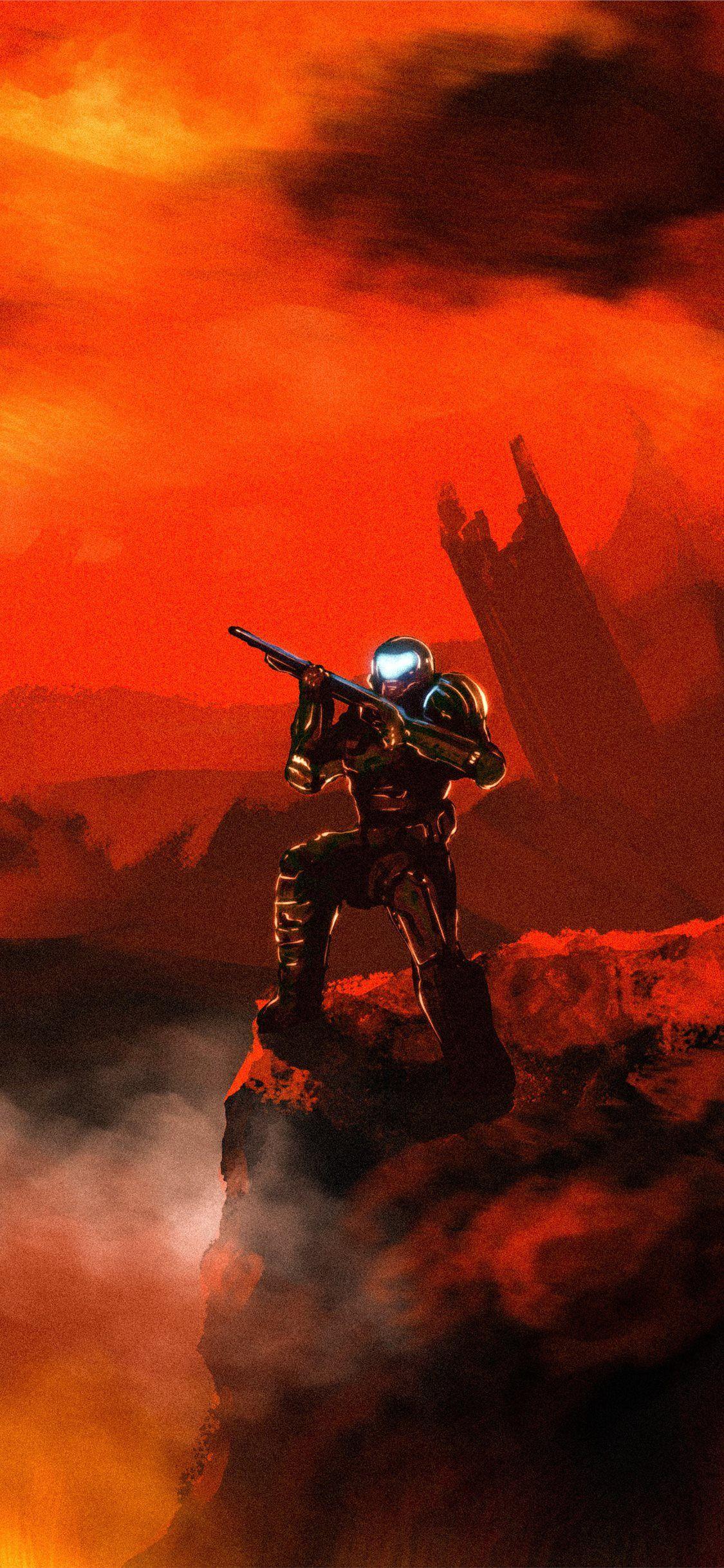 Doom Doom Slayer 4k Doometernal Doom Games 4k 2020games Iphone11wallpaper In 2020 Slayer Doom Wallpaper
