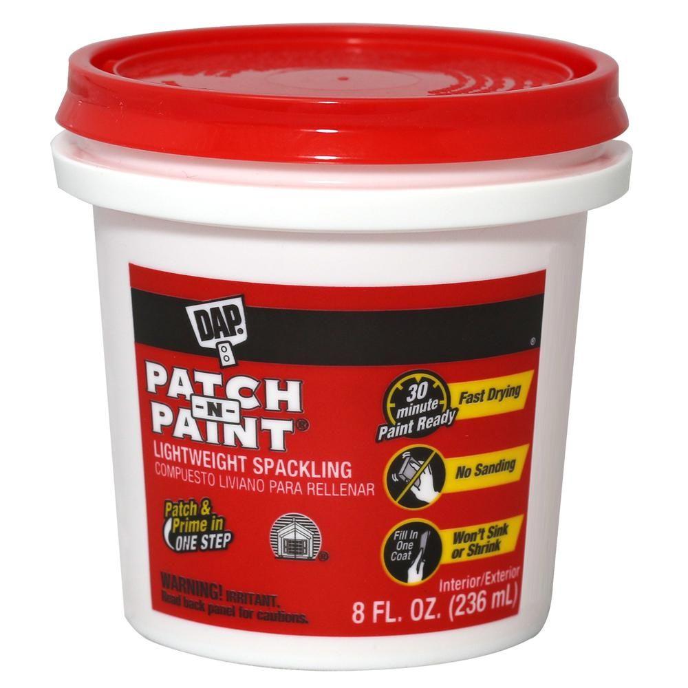 Dap patchnpaint 8 oz white premiumgrade lightweight
