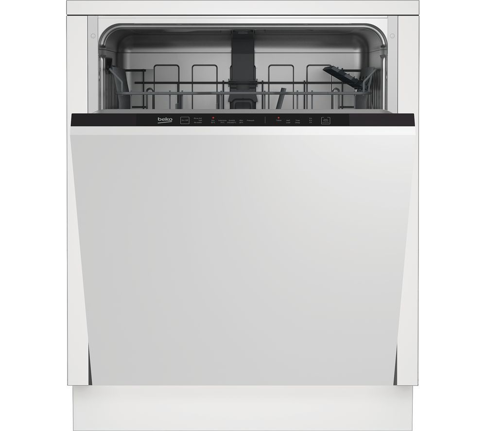 Buy Kenwood K4d556x18 Fridge Freezer Inox Free Delivery Currys In 2020 Integrated Dishwasher Fully Integrated Dishwasher Built In Dishwasher