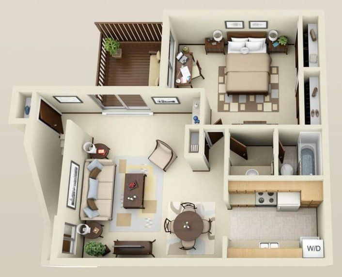 10 Important Things You Should Know Before Designing A House Plan Apartment Layout Apartment Floor Plans One Bedroom House Plans