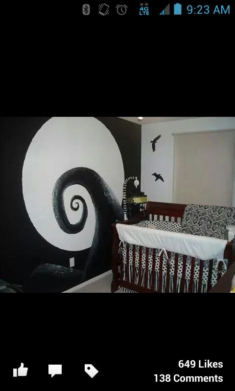 Room designs | Nightmare before christmas, Room design ...