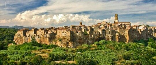 Pitigliano borgo piú bello d'Italia