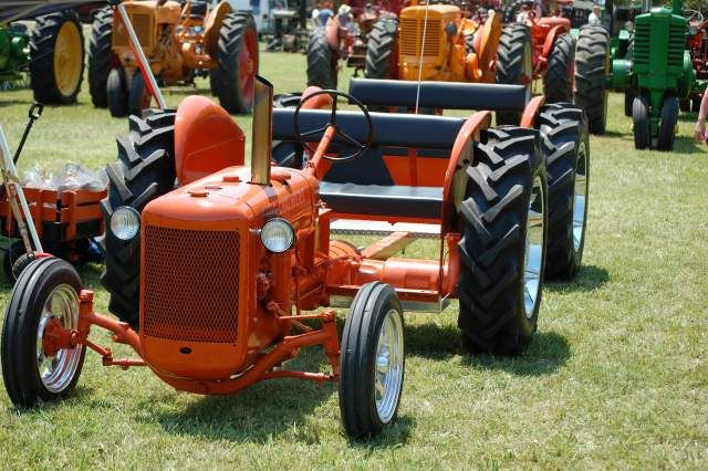 old garden tractors Weekend Freedom Machines LagtVtd Tractor