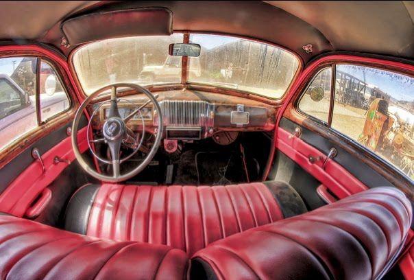 Old Vintage Car Interior Cuba Vintage Car Interiors Pinterest
