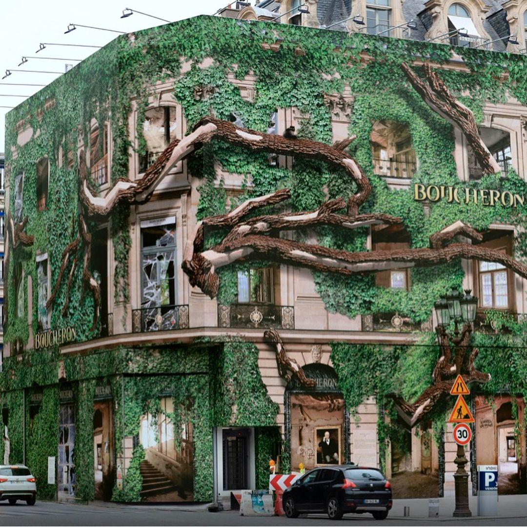 """BOUCHERON JEWELLERY, Place Vendome, Paris, France, """"The"""
