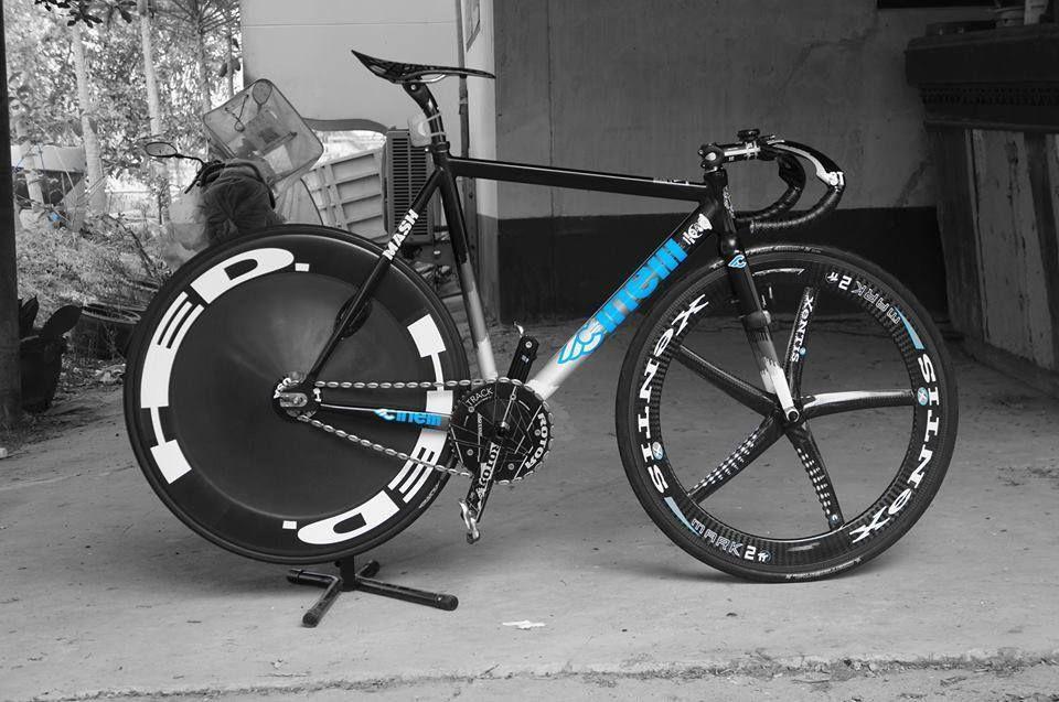 Histogram Fixie Bicicletas Pedalear
