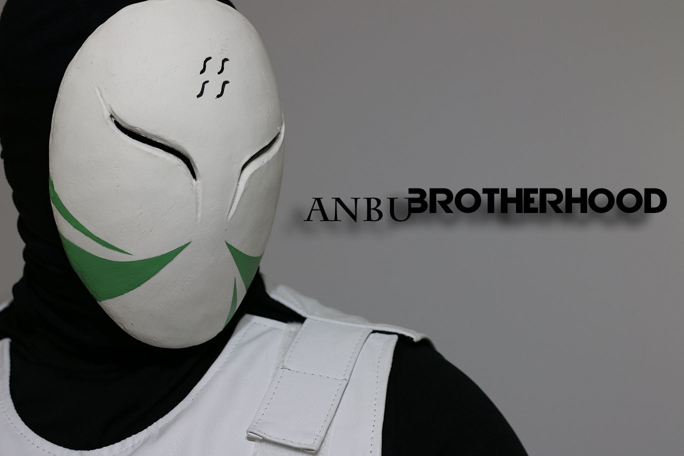 ANBU mask haku of the hidden mist redesign ANBU ...