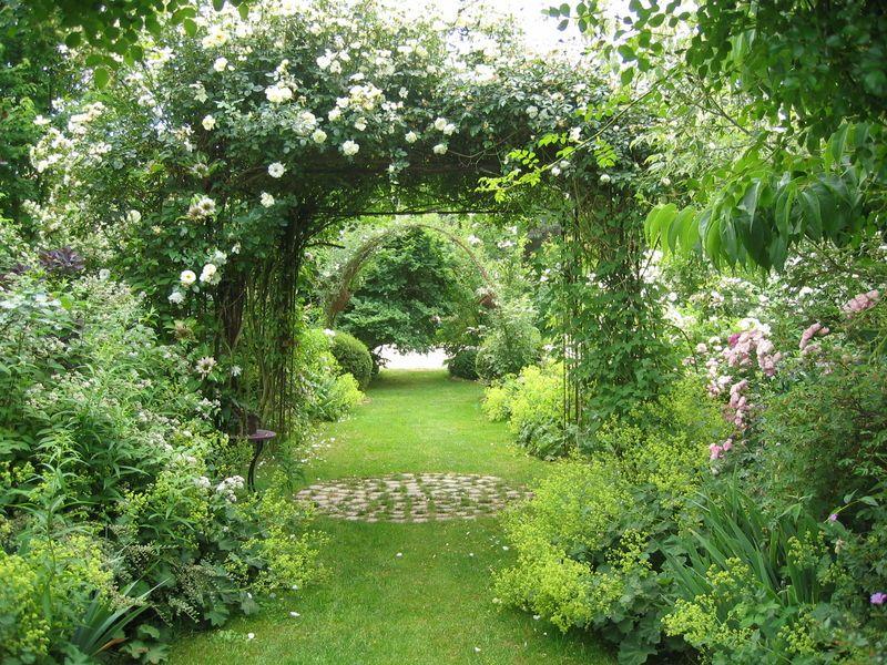 Le jardin de chantal et alain sologne album photos - Petit jardin romantique tours ...