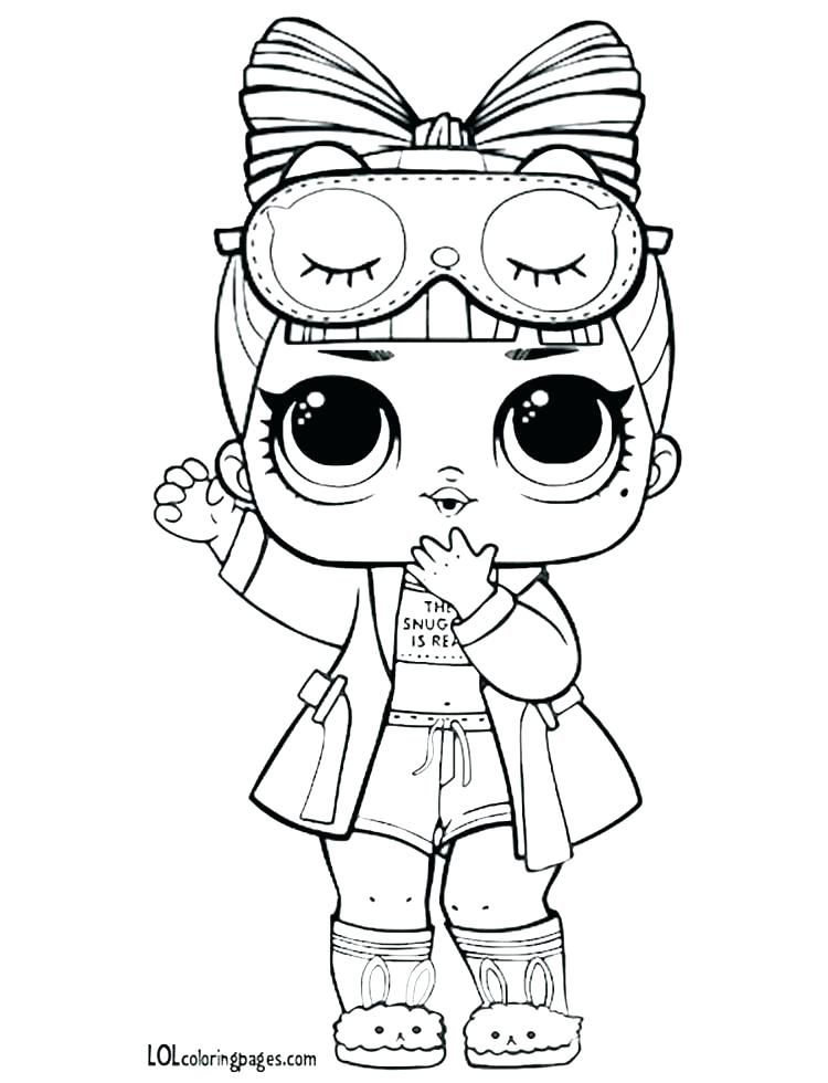 Lol Doll Colouring Pages Luxe Doll Coloring Pages Surprise