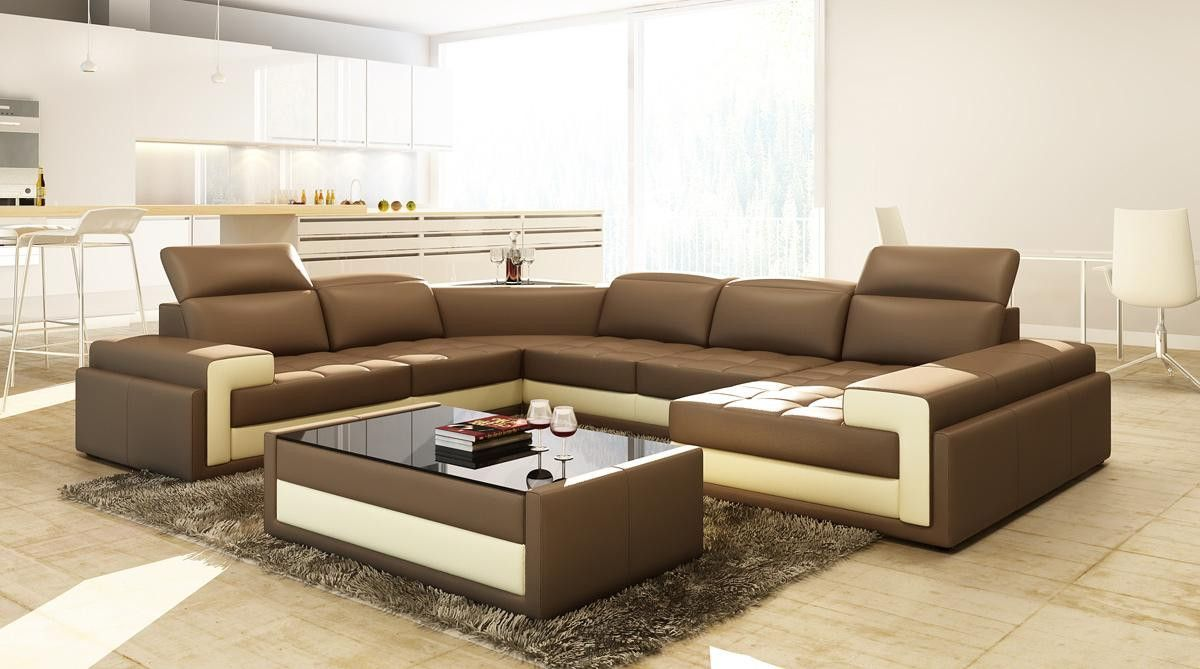 Huge variety in modern furniture contemporary and Italian furniture like platform bed leather sofa sectional sofas and bedroom furniture for home : platform sectional sofa - Sectionals, Sofas & Couches
