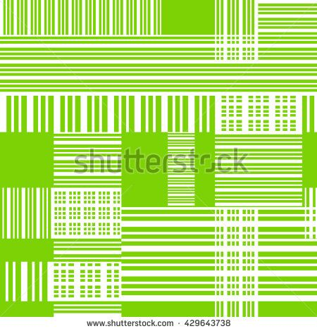Seamless green pattern with cross lines Abstract background for - print lines on paper
