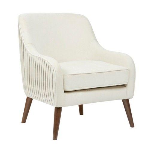 Gillian Accent Chair Cream Beige In 2019 Armchair Accent
