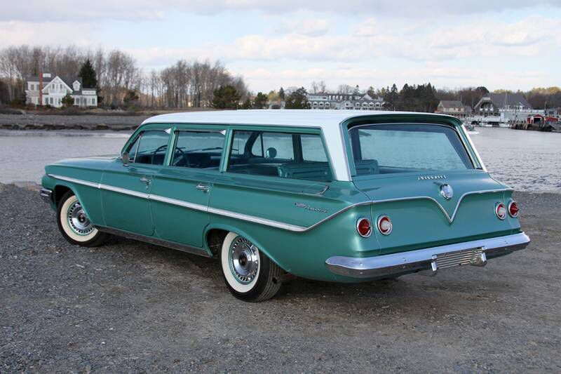 61 Chevy Belair Parkwood Wagon Station Wagon Cars Classic Cars