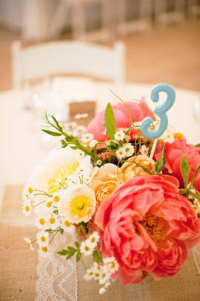 coral table number