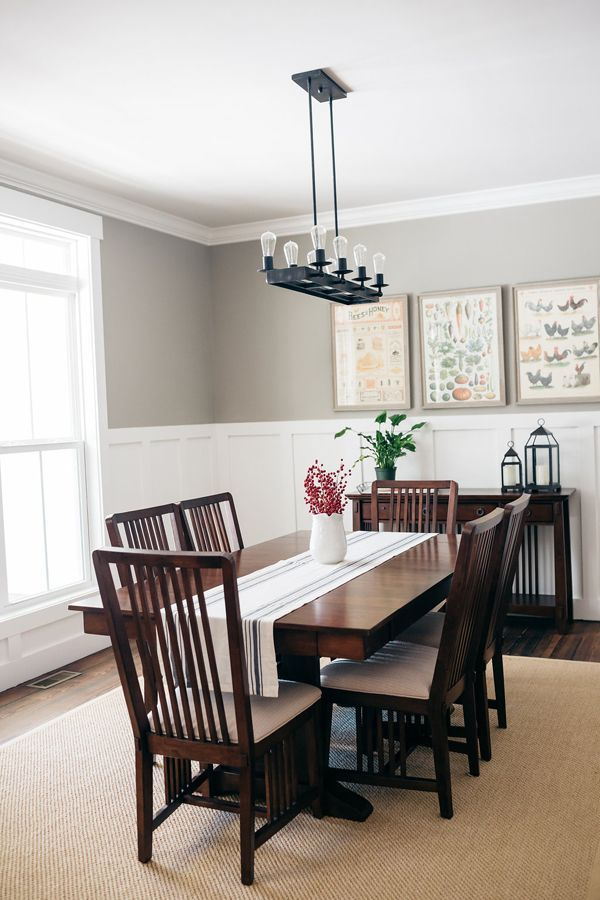 Image Result For Dining Room Board And Batten Beaded Chandelier