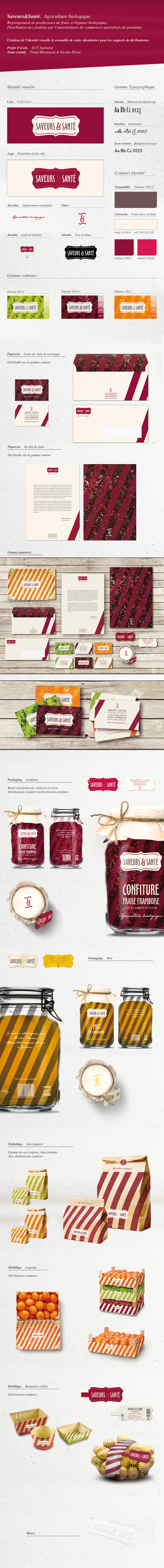 Saveurs&Santé by Fiona MARANGONI & Nicolas PIERRE , via Behance