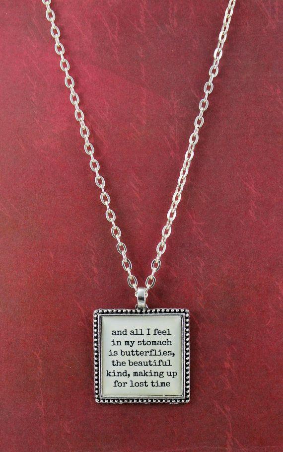Taylor swift ed sheeran lyric necklace by - Ed sheeran give me love live room ...