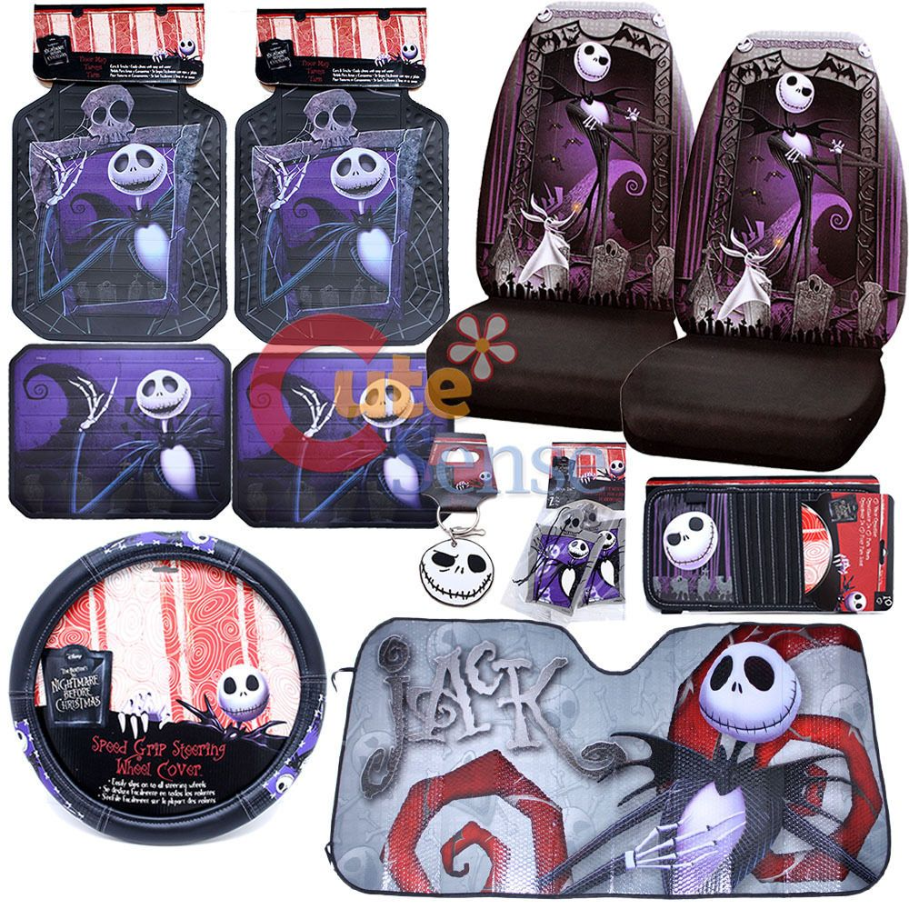 Nightmare Before Christmas Car Interior Accessories HD Wallpaper ...