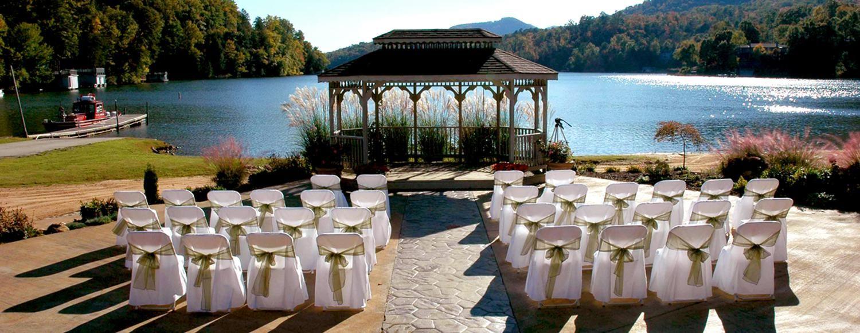 Wedding Venues At Rumbling Bald Resort In Lake Lure Nc