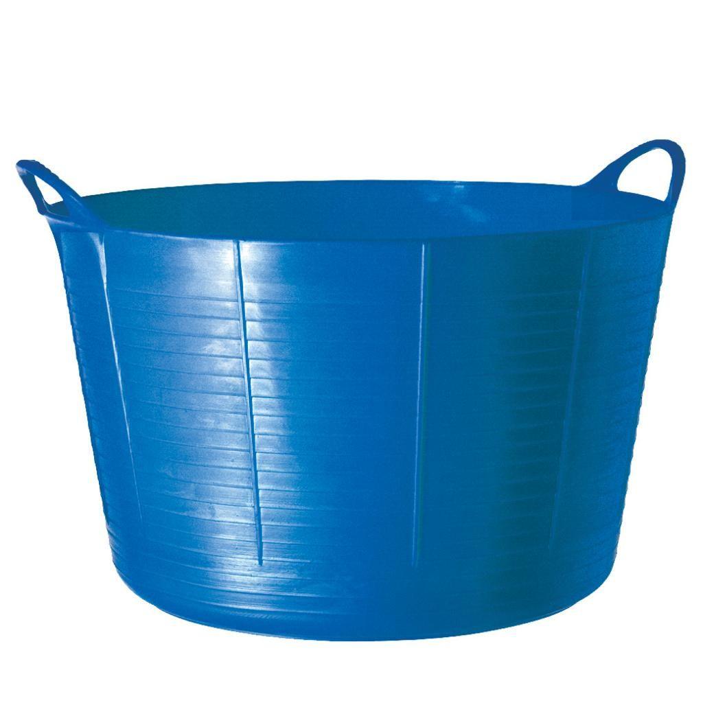 TubTrugs X-Large Blue Plastic 75-liter Flex Tub (TubTrugs SP75BL X ...