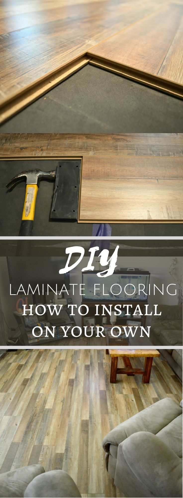How To Install Laminate Floors On Your Own [A Beginner's