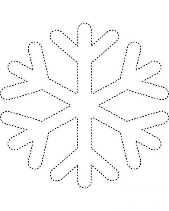 fadenbilder-nägeln-vorlage-schneeflocke-winter | Malvorlage ...