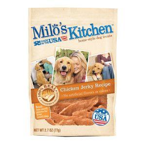 Milo S Kitchen Dog Treat Chicken Jerky Dog Snacks Bacon Dog