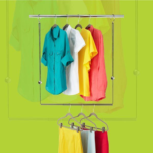 Dublet Adjustable Closet Rod Expander By Umbra 174 19 99