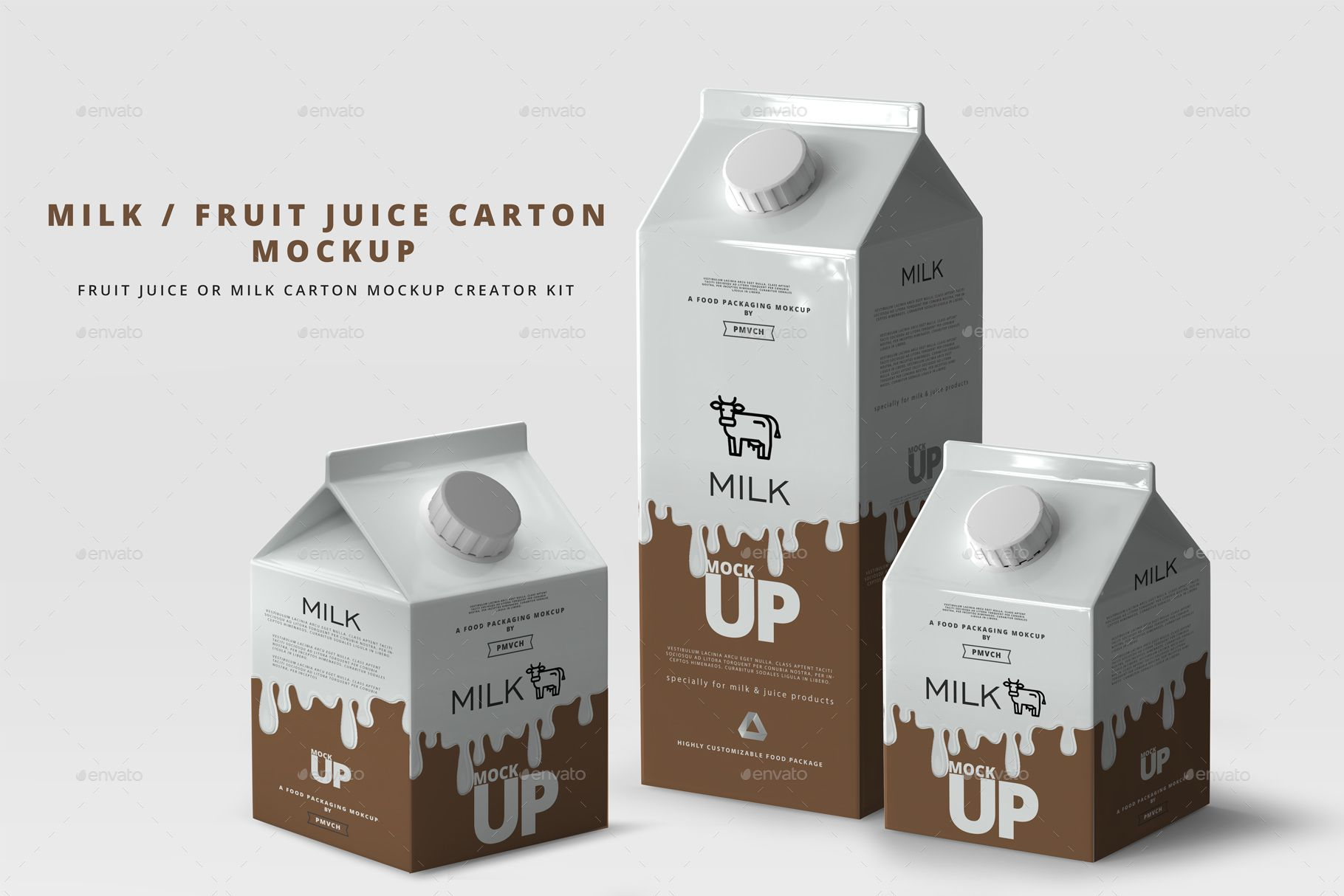 Download Milk Fruit Juice Carton Mockup Juice Carton Milk Packaging Milk