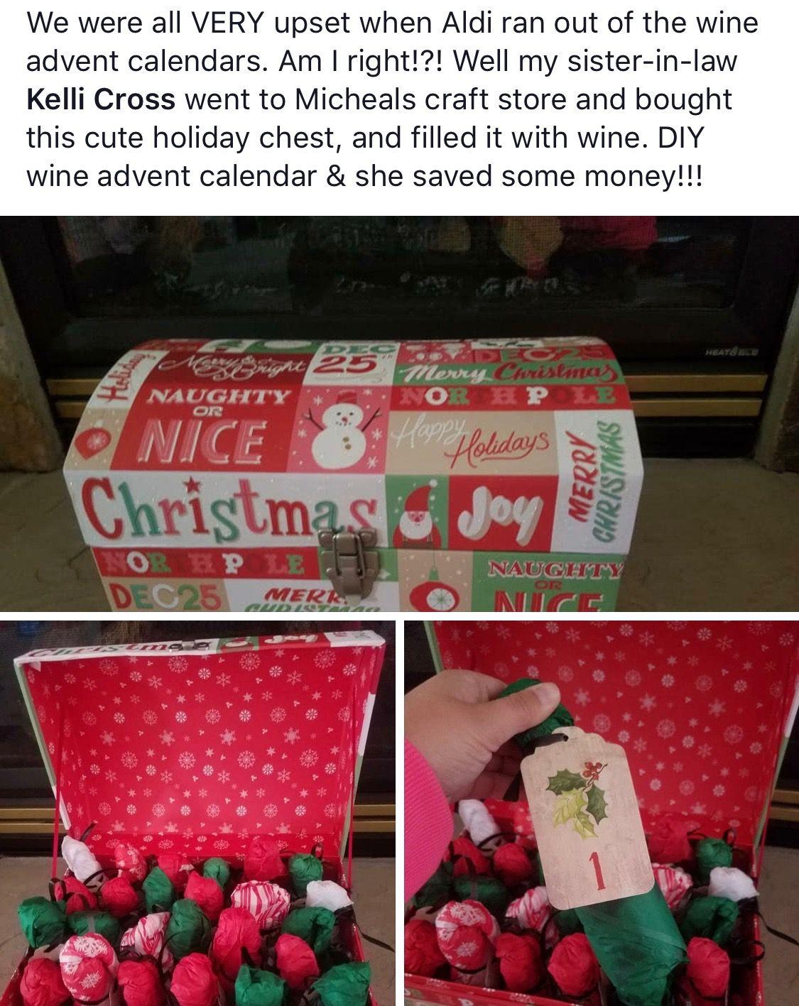 Pin By Amber Ligon On Homemade Gifts Homemade Gifts Wine Advent Calendar Teacher Appreciation Gifts