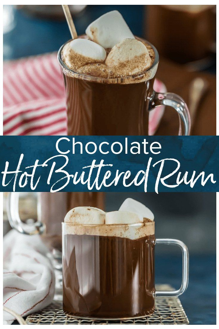 Chocolate Hot Buttered Rum is my absolute FAVORITE hot rum ...