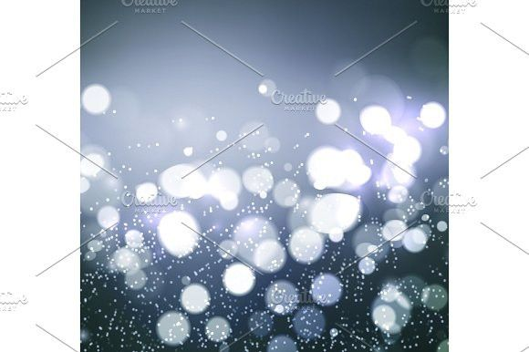 Christmas background. Festive elegant abstract background with bokeh  lights . Christmas Patterns