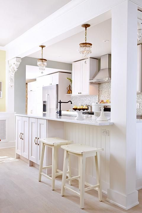 I have a kitchen that i would love to tear into the wall for Sarah richardson kitchen ideas