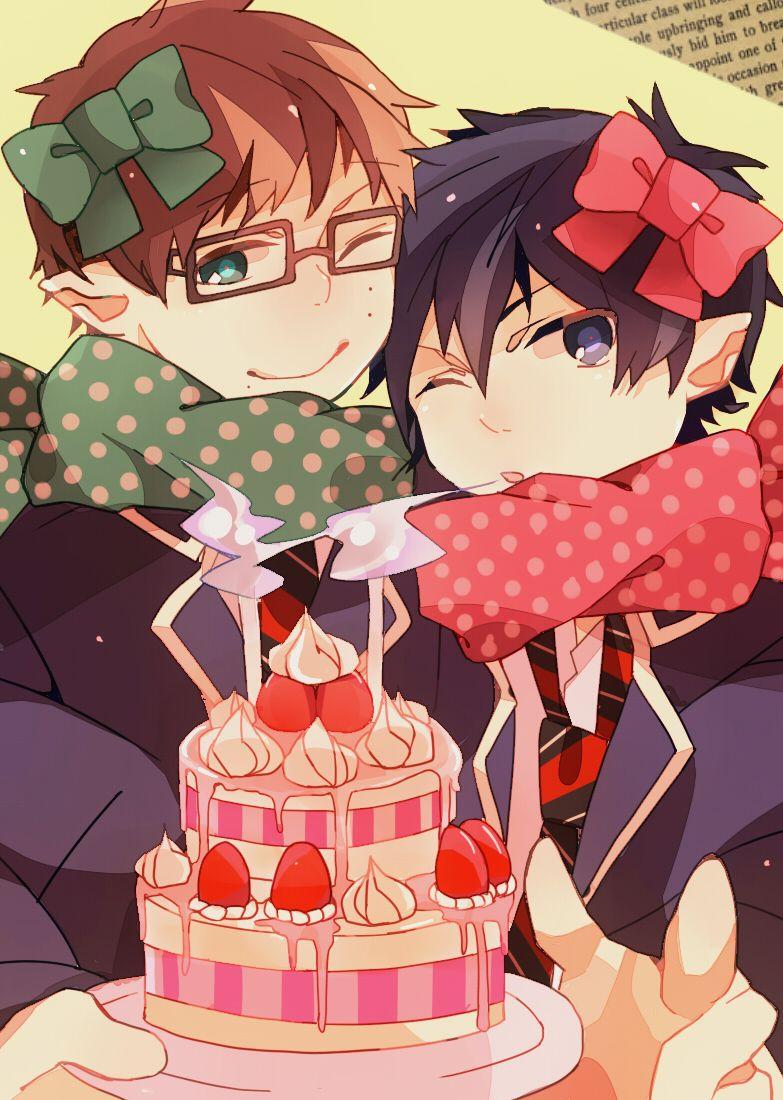 Открытки на день рождения в аниме стиле