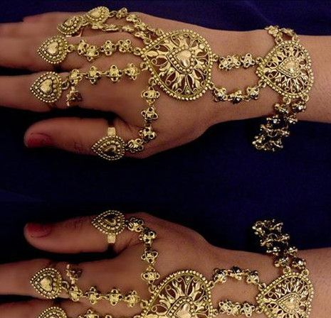 Indian Hand Jewellery